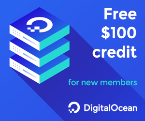 DigitalOcean - Free $100 credit