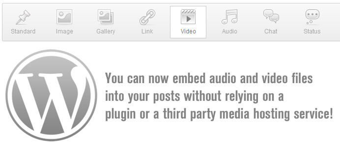 wordpress-3-6-core-audio-video-support